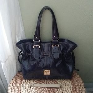 Chiara bag by Dooney and Bourke in Colbalt Blue Sm